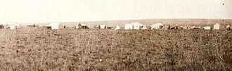 Ferreirasdorp - Ferreira's Camp in 1886