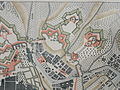 Festung Lëtzebuerg - Gréngewalder Front 1794 - Detail vun der Lefort-Kaart.JPG