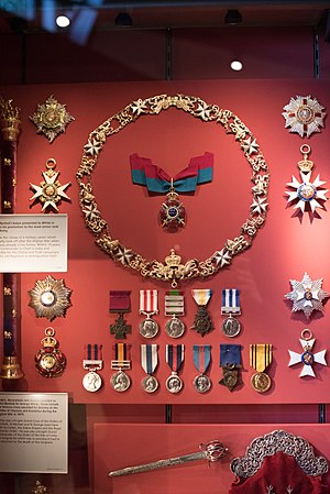 George White (British Army officer) - White's medals and honours displayed at the Gordon Highlanders Museum.