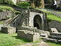 Fiesole, area archeologica, teatro 09 arco.JPG