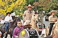 Fiestas Patrias Parade, South Park, Seattle, 2015 - 246 - horses and band (21570389236).jpg