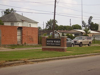 Fifth Ward Houston Wikipedia