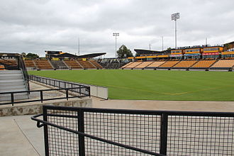 Fifth Third Bank Stadium - Image: Fifth Third Bank Stadium, Kennesaw State University