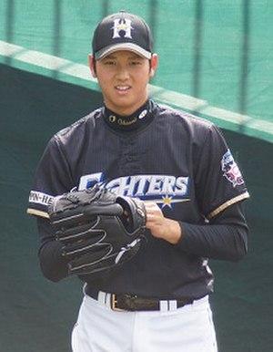 Shohei Ohtani - Ohtani with the Hokkaido Nippon-Ham Fighters
