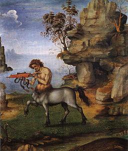 Filippino lippi, centauro ferito
