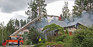Firefighting - Firefighting in Jyväskylä, Finland