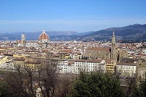 Firenze - veduta da piazzale Michelangelo