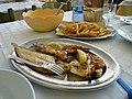 Fish and Chips (Trattoria da Antonia, Marina Palmense, Italy).jpg