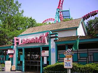 Boomerang (Six Flags St. Louis) - Boomerang at Six Flags Over Texas