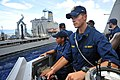 Flickr - Official U.S. Navy Imagery - A Navy officer serves as conning officer..jpg
