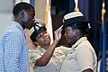 Flickr - Official U.S. Navy Imagery - A new chief receives her combination cover. (2).jpg