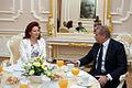 Flickr - Saeima - Solvita Āboltiņa tiekas ar Lietuvas Republikas ārlietu ministru.jpg