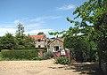 Flint and brick houses beside Chapel Lane - geograph.org.uk - 841497.jpg