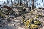 Flitsch oesterr-ungar Frontlinie Uebergangsgraben 10032015 0648.jpg