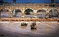 Flood under the Turkish Bridge שטפון תחת הגשר התורכי.jpg