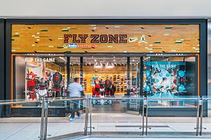 Scarborough Town Centre - Image: Flyzone