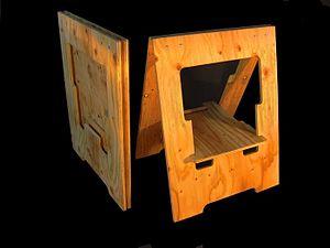 Sawhorse - A folding sawhorse.