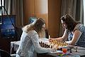 Fondation Neva Women's Grand Prix Geneva 09-05-2013 - Anna Muzychuk vs Nana Dzagnide.jpg