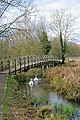 Footbridge over River Test - geograph.org.uk - 344362.jpg