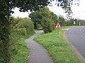 Footpath by the B1113 - geograph.org.uk - 995164.jpg