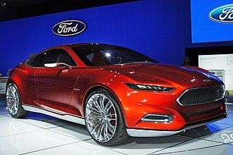 Ford Evos - Image: Ford Evos plug in hybrid WAS 2012 0589