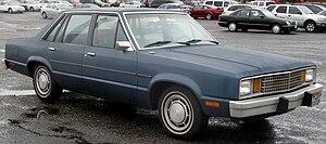 Ford Fox platform - Image: Ford Fairmont sedan 1