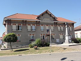 The town hall in Forges-sur-Meuse