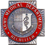 USA Medical Recruiter Badge