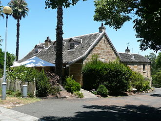 Banjo Paterson - The Gladesville cottage Rockend, where Paterson lived in the 1870s and 1880s