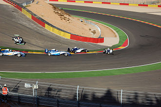 Formula Renault - A race in the Formul'Academy Euro Series at Ciudad del Motor de Aragón, Spain (2009)