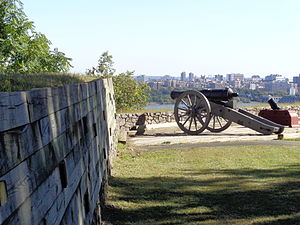 Fort Lee Historic Park - Image: Fort Lee Hist Park 04