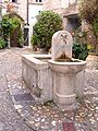 Fountain, Saint-Paul de Vence 1.JPG