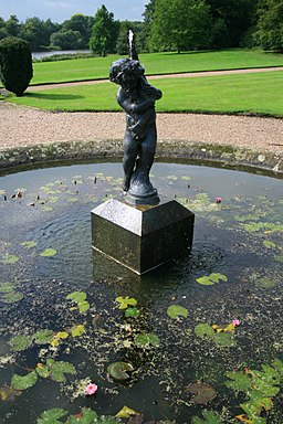 Fountain, Sudbury Hall - geograph.org.uk - 954302