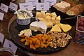 Four cheese selections with plates.jpg