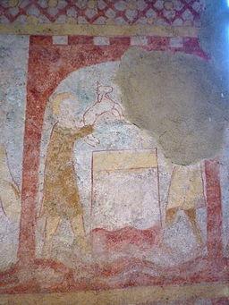 Fr Holtzbad Chapelle Saint-Ulrich Abel fresco