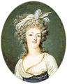 François Dumont - Portrait miniature of Marie-Antoinette - 1790 ca..jpg