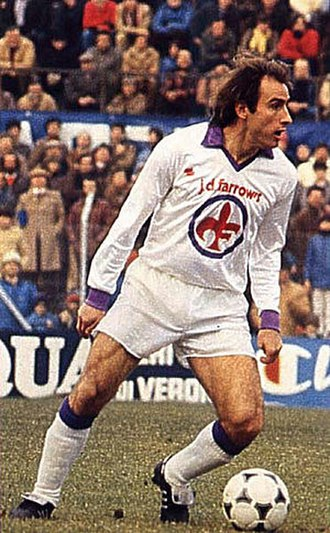 Francesco Graziani - Graziani at Fiorentina in the early 1980s