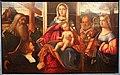 Francesco rizzo da santacroce, madonna col bambino, santi e un devoto, 1505-45 circa (ve).JPG