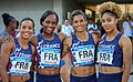 Francia en los relevos 4x100 en los Juegos del Mediterráneo 2018.jpg