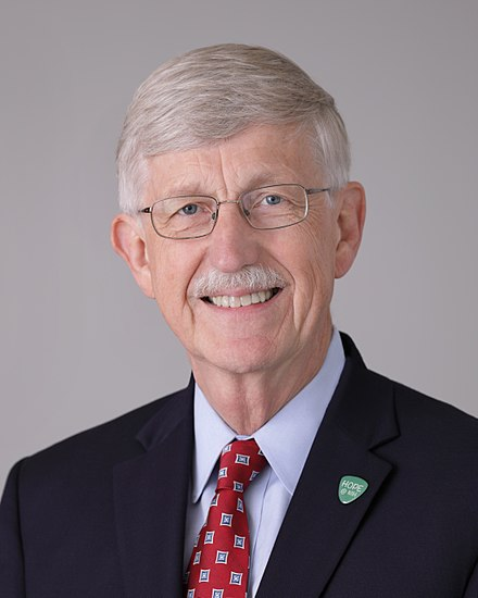 Francis Collins, a scientist who is also a Christian, is the current director of the National Institutes of Health. Francis Collins official photo.jpg