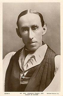 Francis Paget British bishop