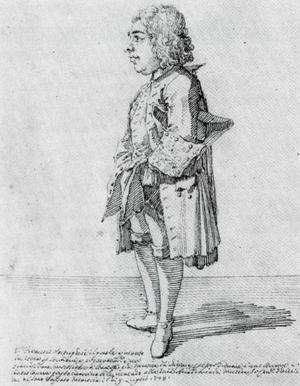 Francisco António de Almeida - Caricature of Almeida by Pier Leone Ghezzi