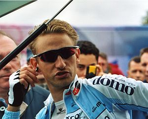 Frank Vandenbroucke (cyclist) - Vandenbroucke at the 2002 Paris–Tours