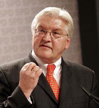 Politics of Germany - Frank-Walter Steinmeier was the Social Democrat candidate for chancellor in 2009 and President of Germany since 2017