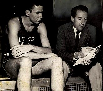 Frank Truitt - Frank Truitt with Jerry Lucas at Ohio State