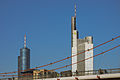 Frankfurt-Germany skyline with Commerzbank and HeLaBa towers and bridge Holbeinsteg.jpg
