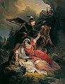 Franz Dobiaschofsky - Herzog Ernst der Eiserne rettet Cimburgis von Masowien - 9608 - Österreichische Galerie Belvedere.jpg