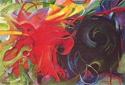 Franz Marc: Fighting forms