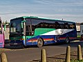 Fraser Eagle coach YJ05 PWL VDL Bus SB4000 Van Hool Alizee in Heywood 31 November 2006.jpg
