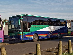 Fraser Eagle - Van Hool bodied VDL SB4000 in November 2006